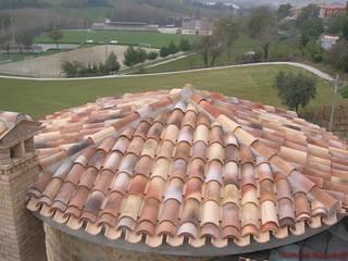 Rimini Baustoffe GmbH Mediterranean style house Bricks