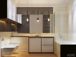 Baños eclécticos de Студия авторского дизайна ASHE Home Ecléctico