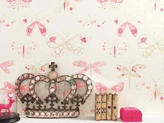 1/4 de Sonho Nursery/kid's roomAccessories & decoration Paper Pink
