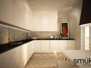 Apartament w Warszawie: styl , w kategorii Kuchnia zaprojektowany przez SMUK