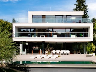 modern Houses by WUNSCHHAUS