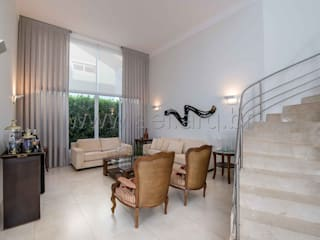 Living: Salas de estar  por aei arquitetura e interiores