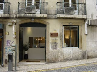 ESPAÇO COMERCIAL Espaços comerciais minimalistas por armazem de arquitectura Minimalista