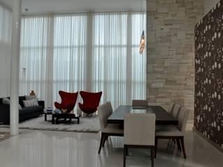 Inspiração Modernista I Salas de jantar modernas por Libório Gândara Ateliê de Arquitetura Moderno