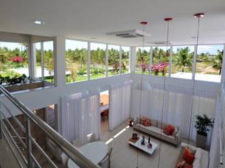 Inspiração Modernista II Salas de estar modernas por Libório Gândara Ateliê de Arquitetura Moderno