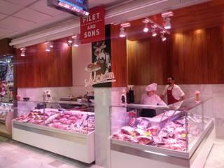 Carniceria Moran: Centros comerciales de estilo  de LUZ PERFECTA, S.L.U.