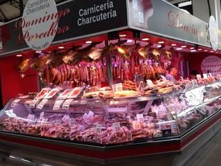 Carniceria y Charcuteria en Madrid: Centros comerciales de estilo  de LUZ PERFECTA, S.L.U.