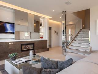 Salon moderne par Andrea Bonini luxury interior & design studio Moderne