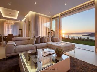 Salones de estilo  de Andrea Bonini luxury interior & design studio