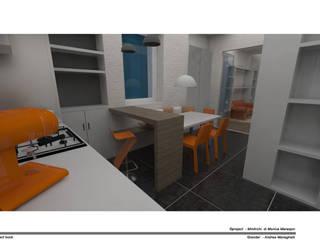 Modern kitchen by MmArchi. I Monica Maraspin Architetto Modern