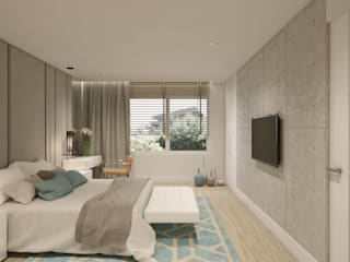 Modern style bedroom by Disak Studio Modern
