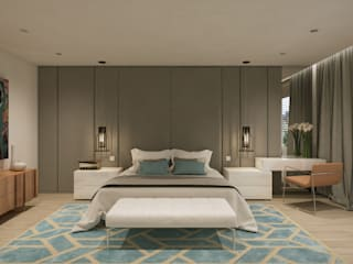 Bedroom by Disak Studio , Modern