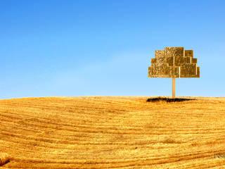 Inspiring Trees por INSIDHERLAND Moderno