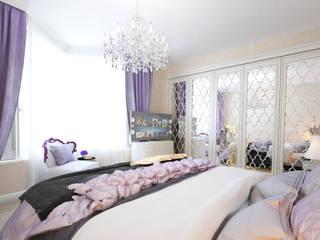 Dormitorios de estilo  de Tatiana Zaitseva Design Studio, Clásico