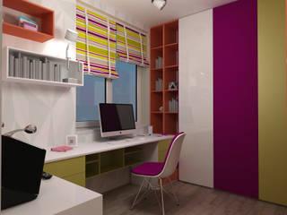 Dormitorios infantiles de estilo  de Tatiana Zaitseva Design Studio, Moderno