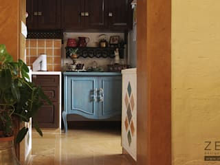 kitchen unit: country  by ZERO9,Country