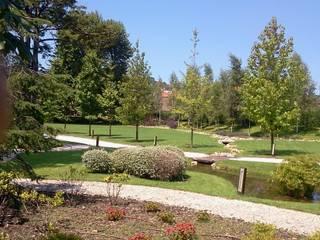 Jardin Historico Gijón Jardines de estilo moderno de GreenerLand. Arquitectura Paisajista y Tematización Moderno