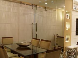 Catharina Quadros Arquitetura e Interiores Modern Dining Room