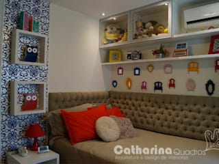 Modern nursery/kids room by Catharina Quadros Arquitetura e Interiores Modern