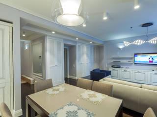 Светлая, легкая квартира в Переделкино Гостиная в классическом стиле от ARTteam Классический