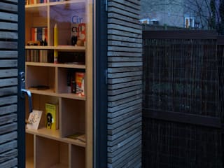 Modern study/office by ecospace españa Modern