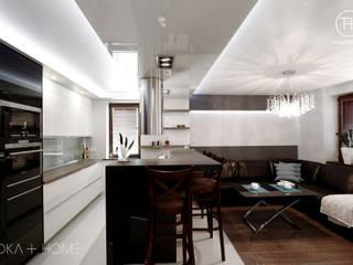 KRYSZTAŁOWE MARZENIE : styl , w kategorii Kuchnia zaprojektowany przez TOKA + HOME