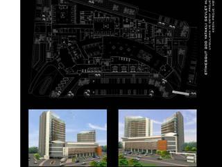 ArtıEksi7 Mimarlık Atölyesi – Etimesgut 200 Yataklı Devlet Hastanesi:  tarz Hastaneler