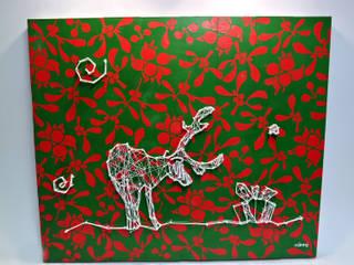 Reindeers Wishes od Malning Interior Tomasz Pabin Skandynawski