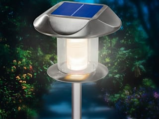 Solarstandleuchen zur sicheren Beleuchtung Ihres (Eigen-)heimes: modern  von Solarlichtladen.de,Modern
