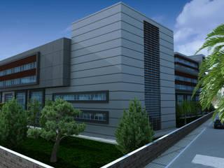 Eski Yimpaş Binasının Hastane Olarak Yeniden İşlevlendirilmesi Modern Hastaneler ArtıEksi7 Mimarlık Atölyesi Modern