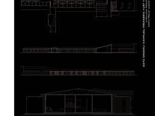 ArtıEksi7 Mimarlık Atölyesi – ODTÜ Erdemli Kampusu Prefabrik Yurt Yerleşimi: modern tarz , Modern