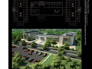 Hakkari Üniversitesi Modern Okullar ArtıEksi7 Mimarlık Atölyesi Modern