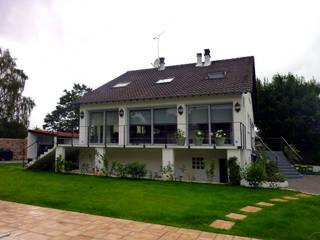 Olivier Stadler Architecte Modern home Concrete White