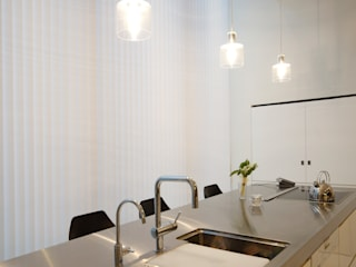Mimasis Design/ミメイシス デザイン Modern kitchen White