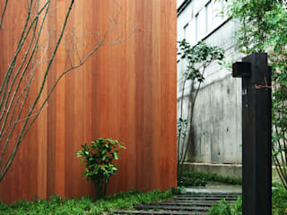 Mimasis Design/ミメイシス デザイン Modern houses Wood effect