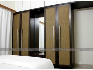 Aishwariyam Greens, Pune:  Dressing room by The Inside Storeys