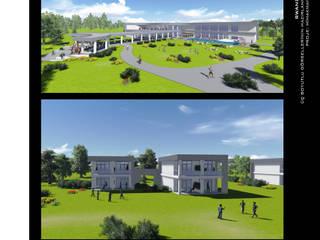 ArtıEksi7 Mimarlık Atölyesi – Rwanda Hotel: modern tarz , Modern