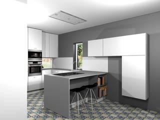Projecto cozinha GDM Cozinhas modernas por 3dogma mobiliário de cozinha Moderno