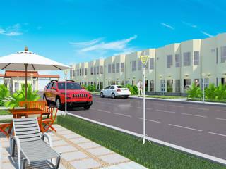 Proyecto Villa Saamar.: Casas de estilo moderno por Arq. Susan W. Jhayde