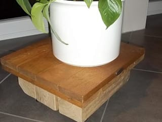 Gregor-Design Living roomSide tables & trays Solid Wood Brown