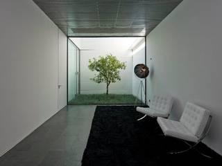 Vườn phong cách hiện đại bởi Atelier fernando alves arquitecto l.da Hiện đại