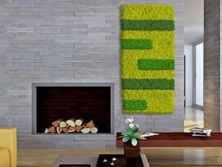 BandIt Design Soggiorno moderno Verde