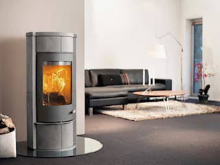 Sola Serie Speicherofen Bernhard Schleicher e.K. Living roomFireplaces & accessories