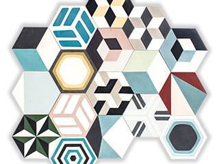 Mosaic del Sur Moderne Wände & Böden