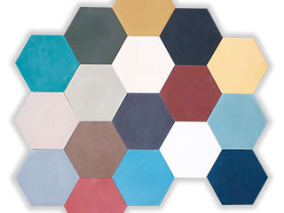 Modern walls & floors by Mosaic del Sur Modern