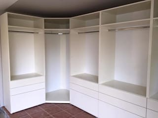 Piwko-Bespoke Fitted Furniture BedroomWardrobes & closets Chipboard White