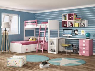 Juveniles con Estilo:  de estilo  de Muebles Trimobel