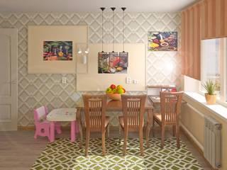 Под обоев в кухню: Кухни в . Автор – Chloe Design & Decor/Anastasia Baskakova