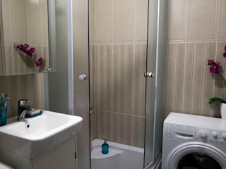 Квартира для двоих: Ванные комнаты в . Автор – Chloe Design & Decor/Anastasia Baskakova