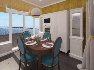 Дом у моря (порект в процессе): Столовые комнаты в . Автор – Chloe Design & Decor/Anastasia Baskakova